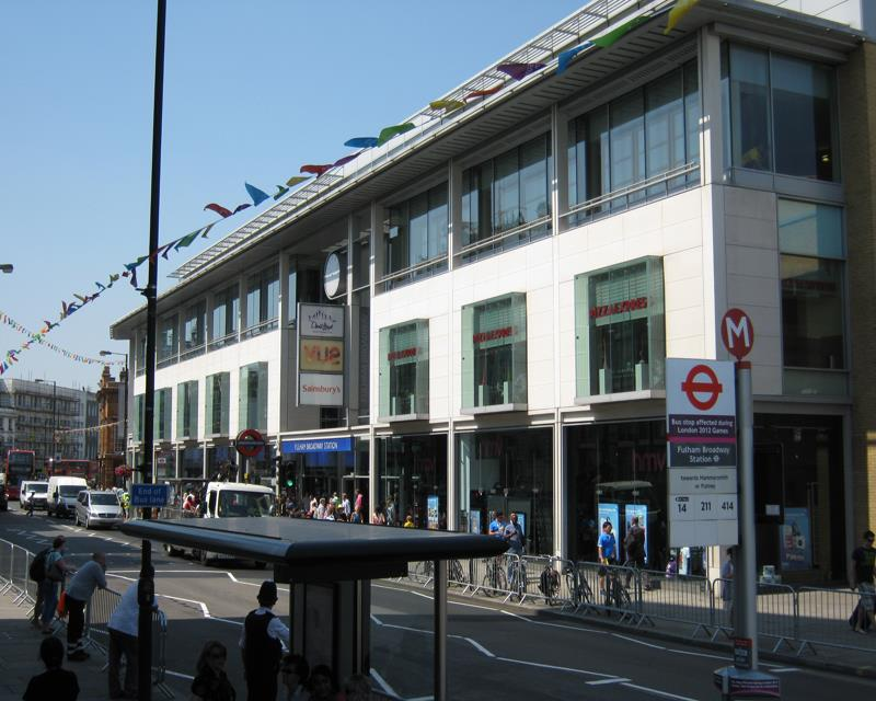 Fulham Broadway Shopping Centre, Fulham Road, Fulham, London, SW6