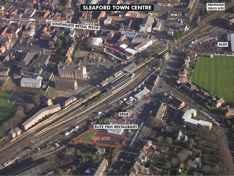 Retail Development, Grantham Road, Sleaford, Lincolnshire, NG34