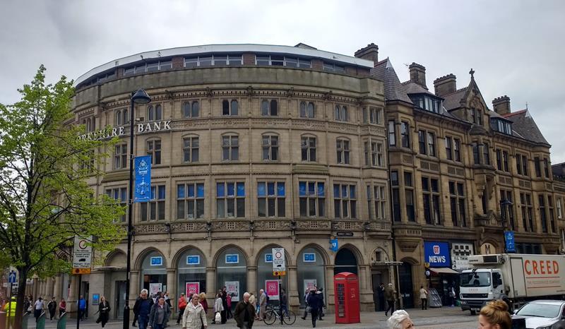 Yorkshire Bank Chambers Fargate, Sheffield, S1 2HD