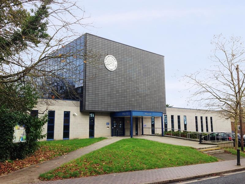 Basingstoke Police Station London Road, Basingstoke, RG21 4AD