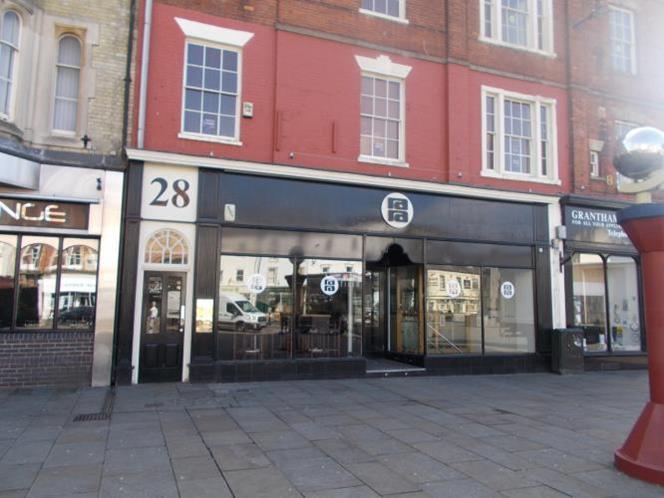 The Former Ra Ra Bar, 28 Market Place, Grantham, NG31