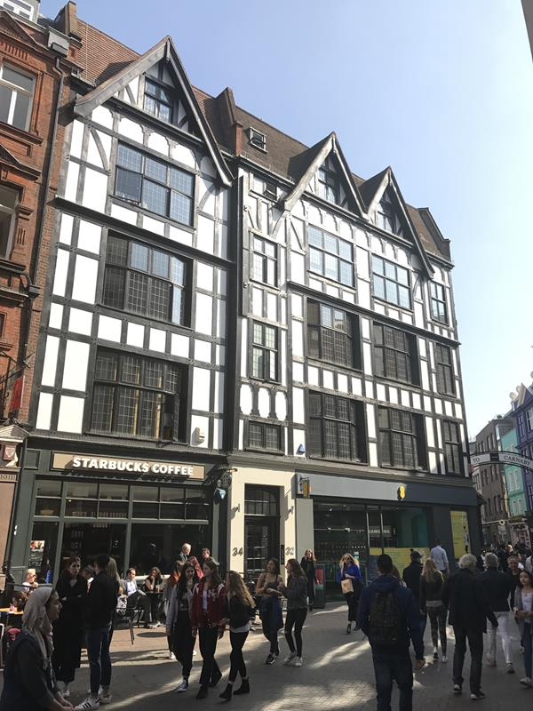 32 - 34 Great Marlborough Street, London, W1F