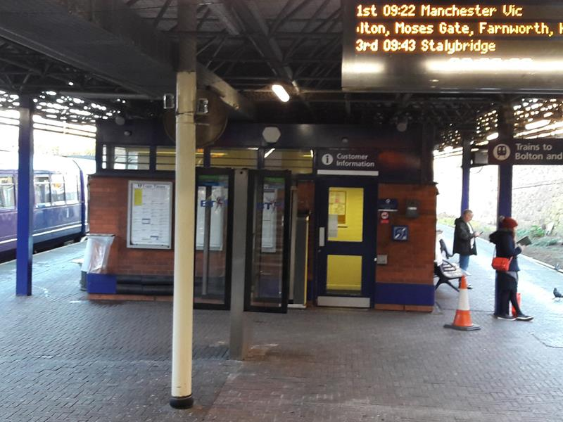 Wigan Wallgate Railway Station Wallgate, Wigan, Lancashire, WN1 1BB