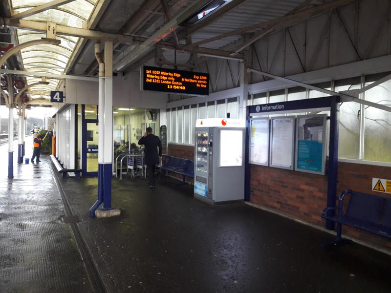 Wilmslow Station, Station Road, Wilmslow, Cheshire, SK9