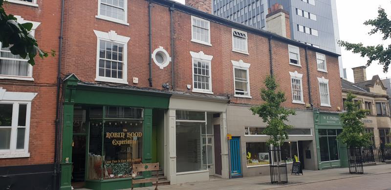 1st & 2nd Floors, 92 Friar Lane, Nottingham, Nottinghamshire
