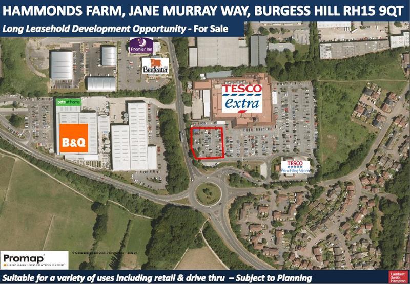 Land At Hammonds Farm, Jane Murray Way, Burgess Hill
