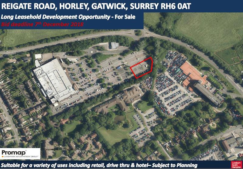Land At Reigate Road, Horley, Gatwick