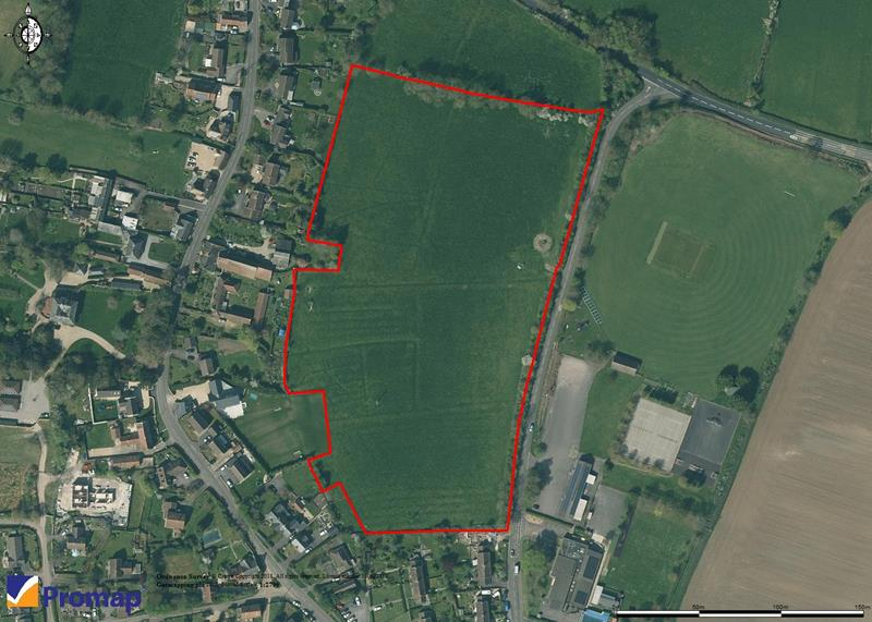 Land On The West Side Of Martock Road, Martock Road, Langport, Somerset