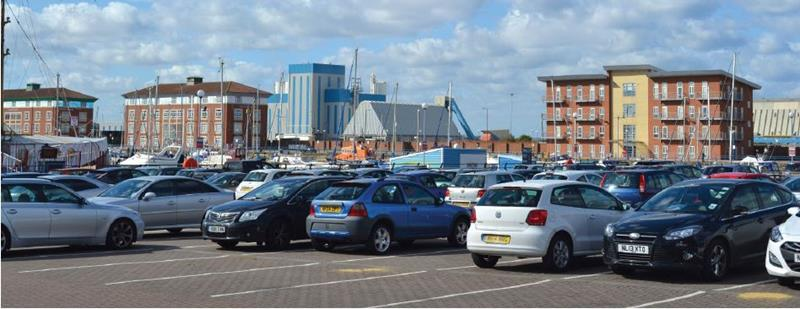 Pay & Display Car Park, Navigation Point, Hartlepool Marina, Hartlepool