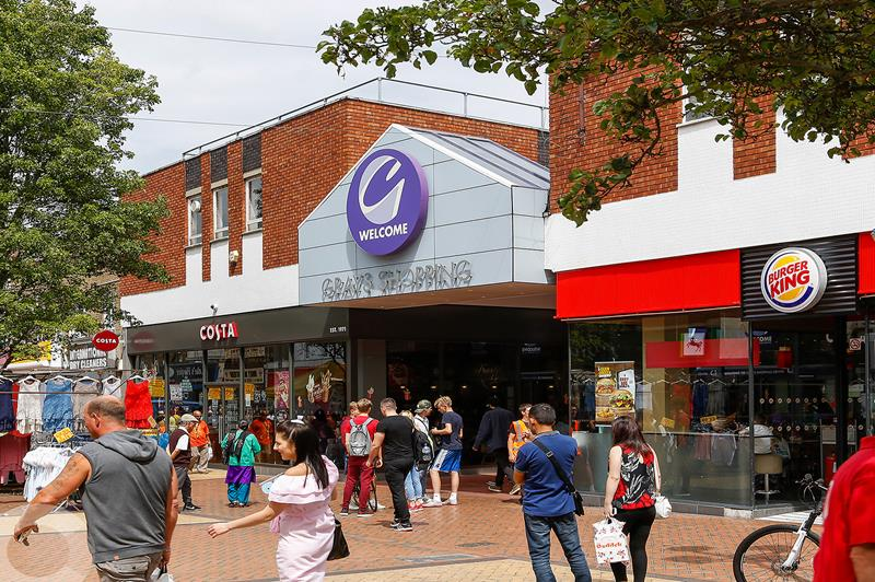 Grays Shopping Centre, Crown Road , Grays , Essex