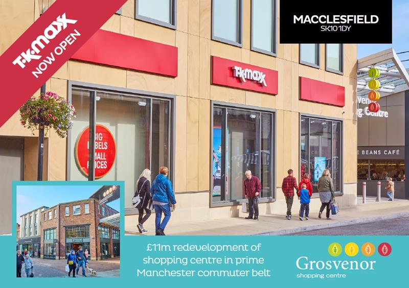 Grosvenor Shopping Centre, MACCLESFIELD