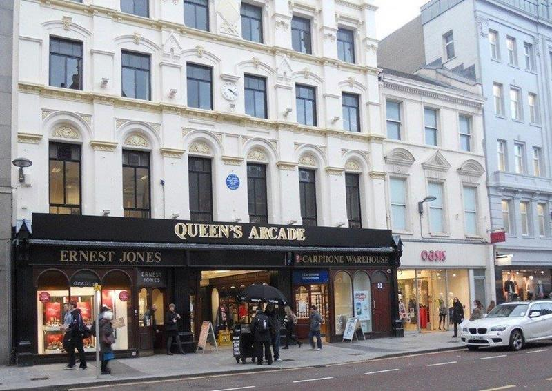 Queens Arcade, Donegall Place , Belfast, County Antrim