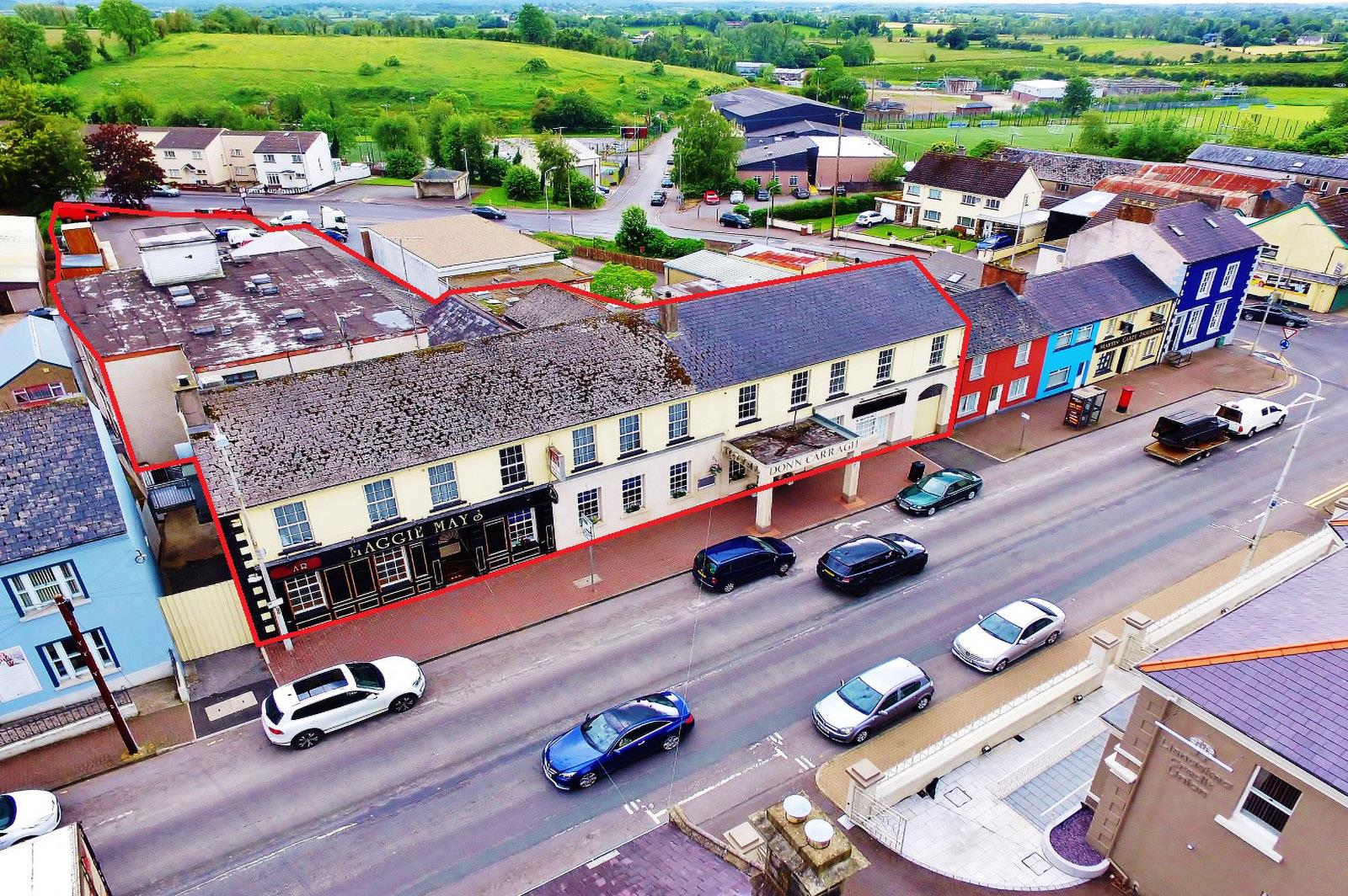 'The Donn Carragh Hotel', 95-97 Main Street, Lisnaskea , County Fermanagh, BT92