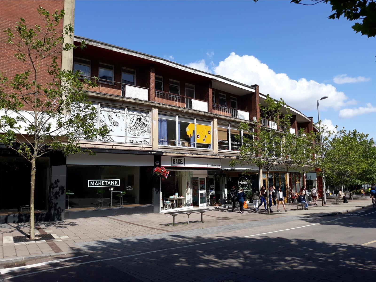 21 Paris Street, Exeter, South West, EX1 2JB
