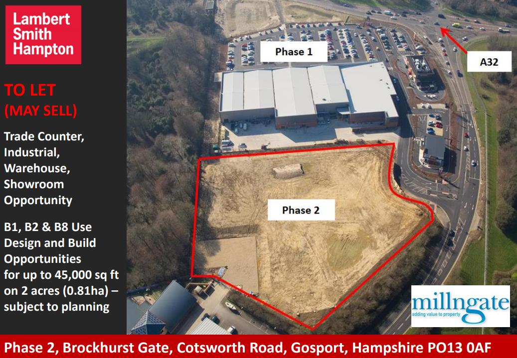 Plot B Phase 2 Brockhurst Gate, Cotsworth Road, Gosport, Hampshire PO13 0AF