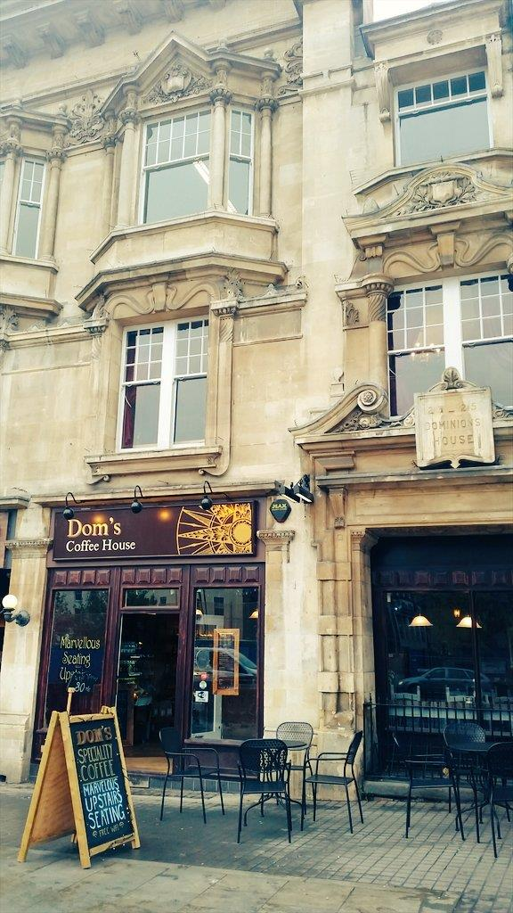 Dom's Coffee House, 23 St. Augustines Parade, Bristol, City Of Bristol, BS1