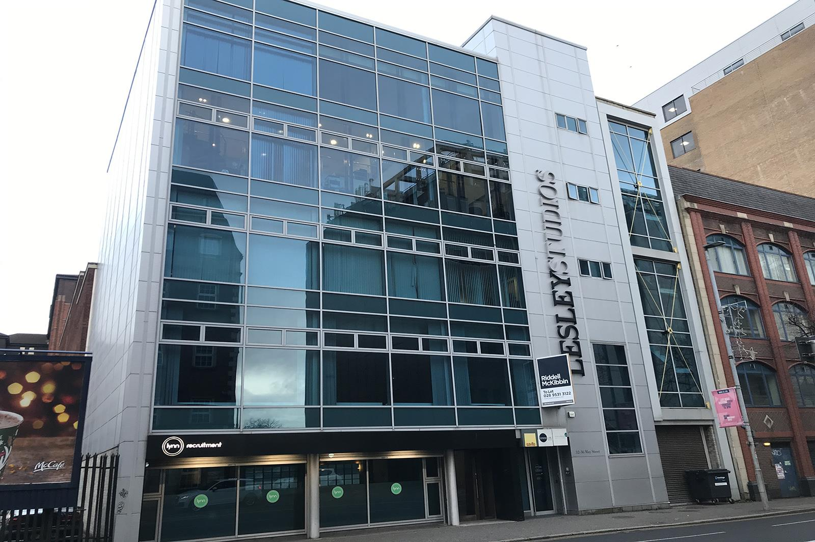 Ground Floor, Lesley Studios, 32-36 May Street, Belfast , County Antrim, BT1