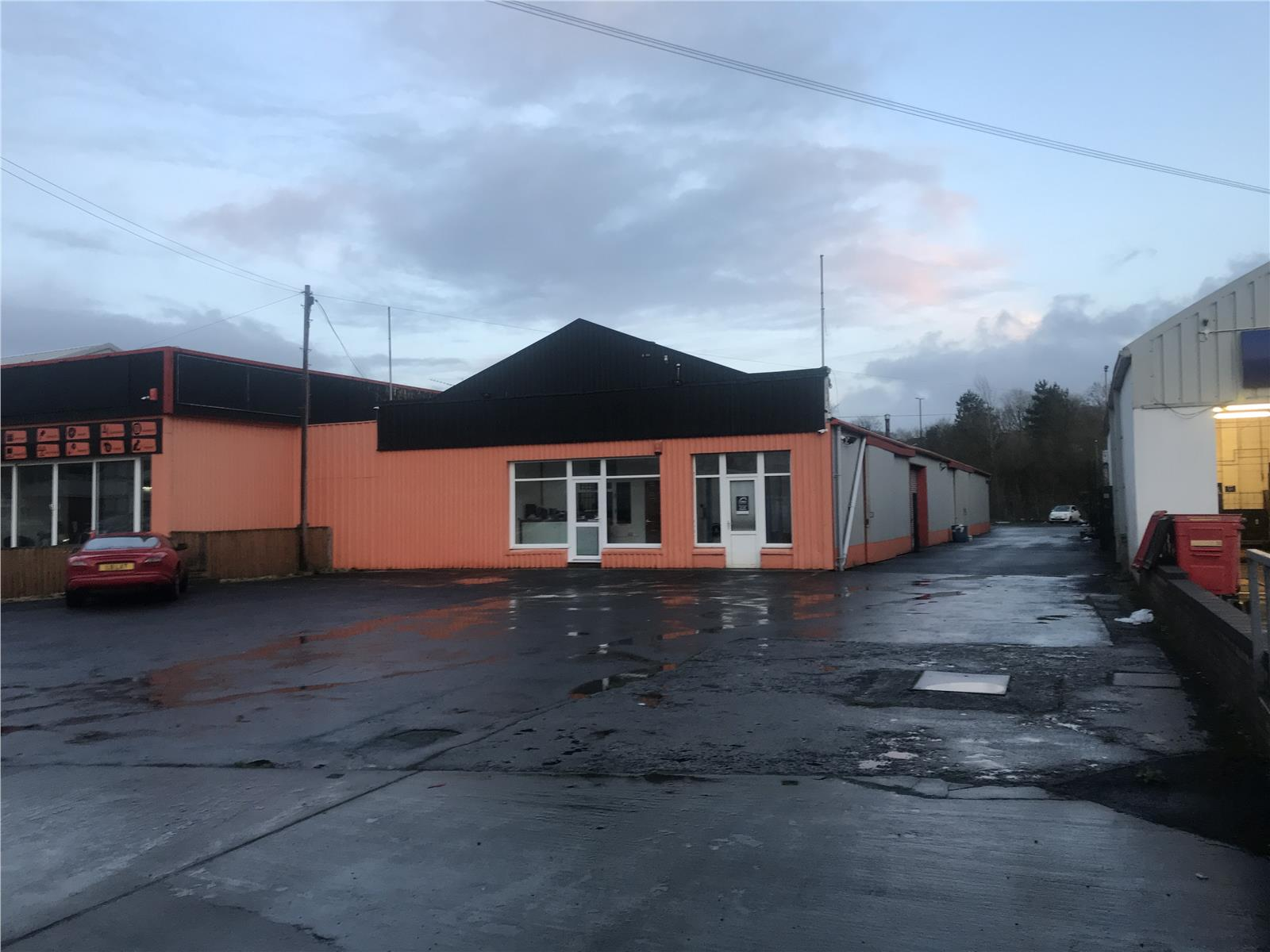 Former Cymru Tyres, Pensarn Road, Carmarthen, Carmarthenshire, SA31