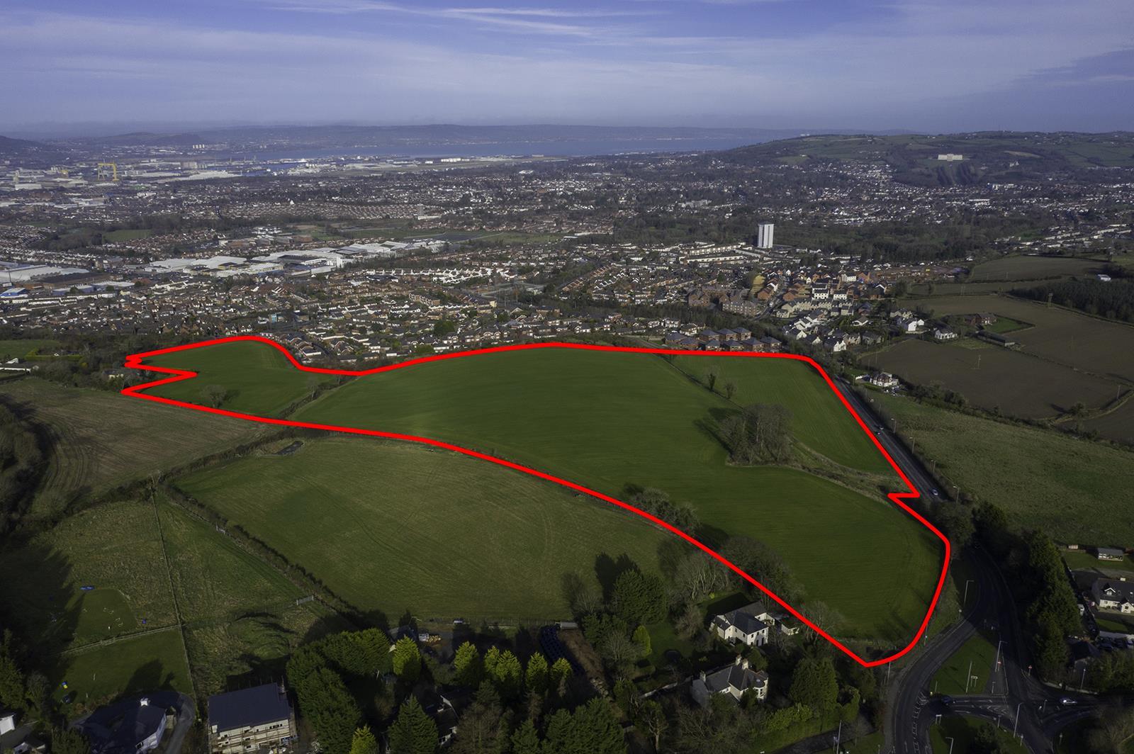 Lands At Church Road/Ballygowan Road , Castlereagh, Belfast , County Antrim, BT6