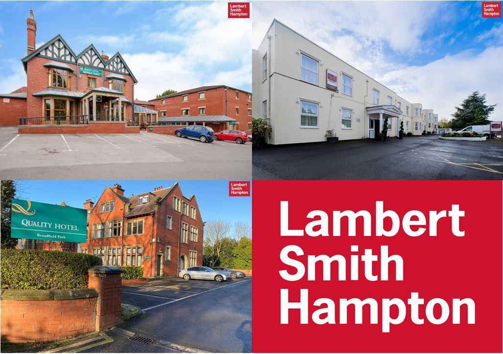 Portfolio of 3 Hotels ,  Cheltenham, Rochdale and Sheffield