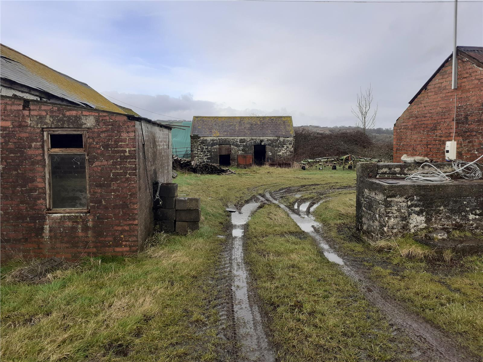 Little Burrows Farm, Laugharne To Pendine, Llanmiloe, Carmarthen, Wales, SA33