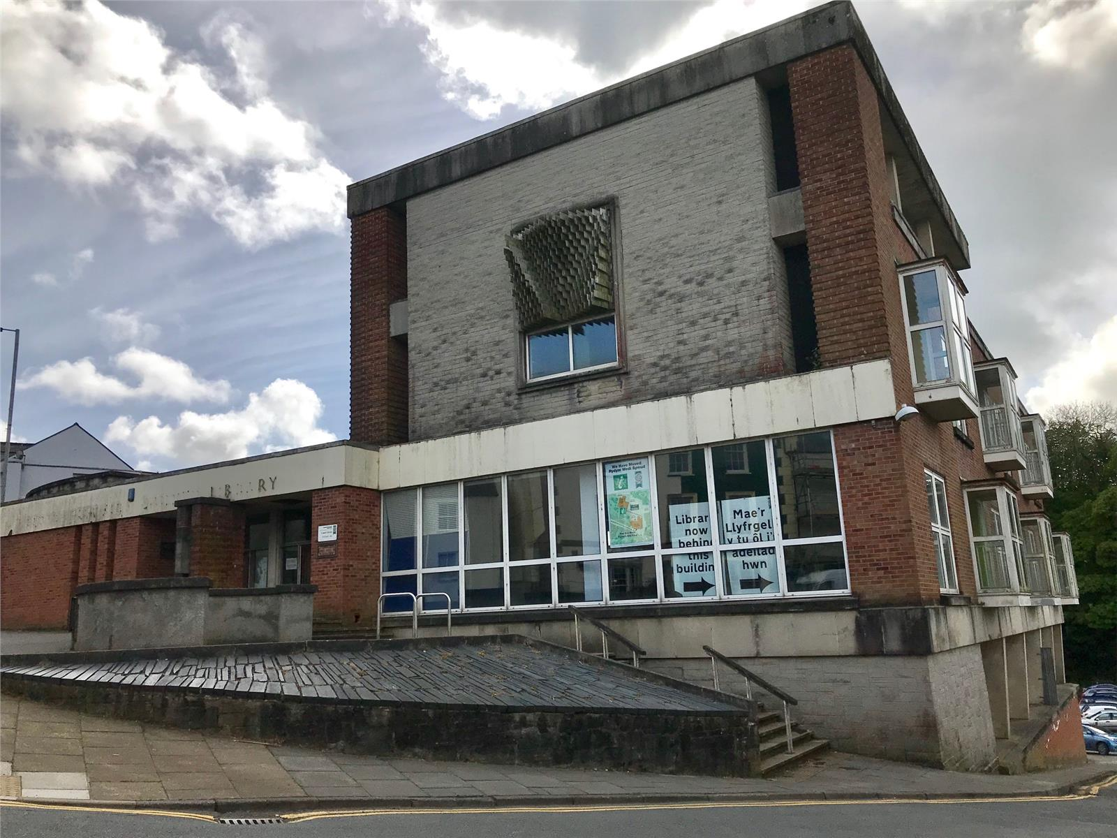 Former County Library And Land, Dew Street, Haverfordwest, Pembrokeshire, SA61