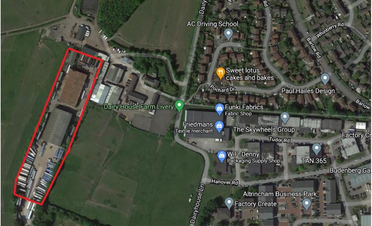 Higher House Farm, Dairy House Lane, Dunham Massey, Altrincham, Cheshire, WA14