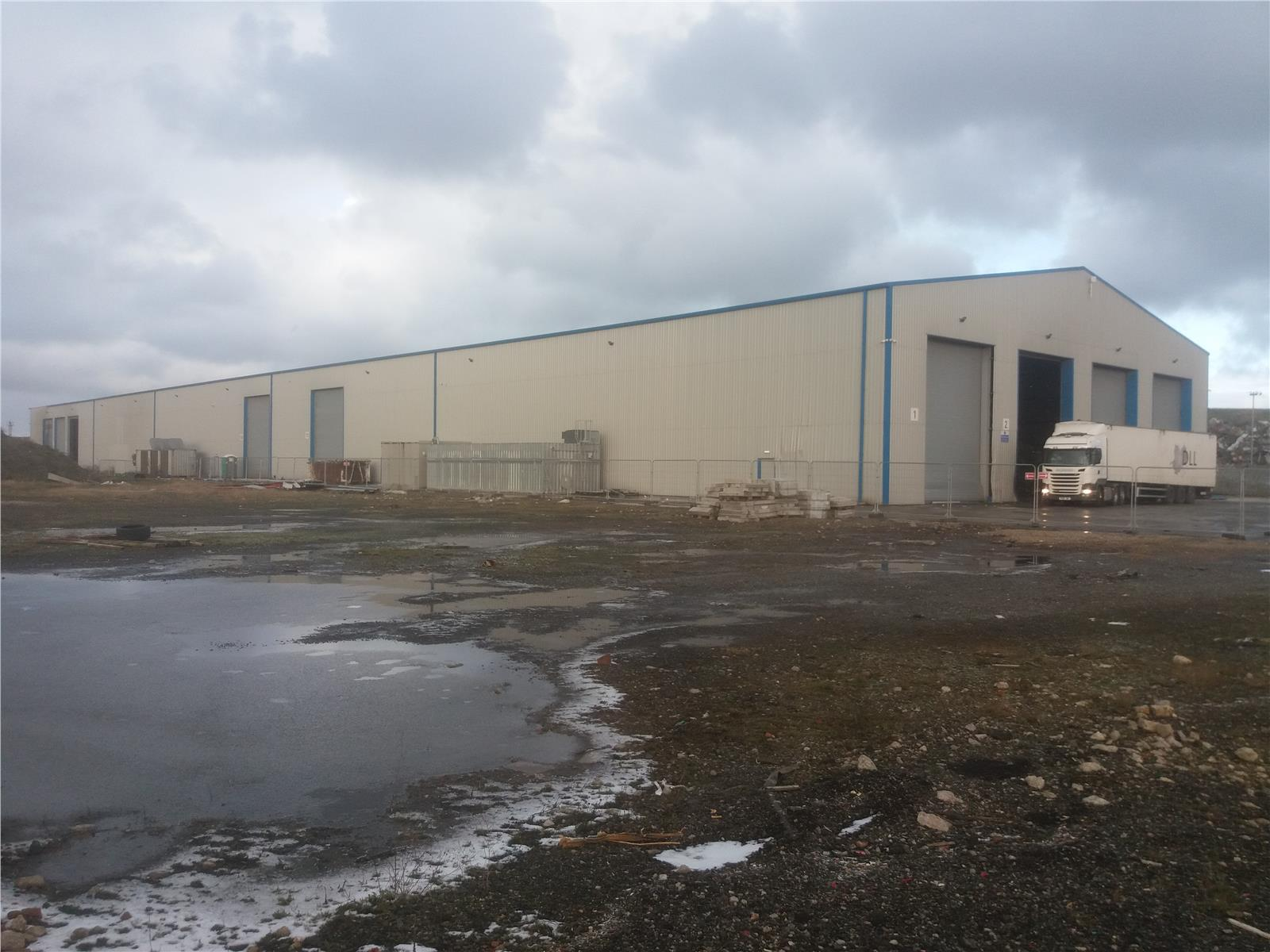 Fibre Materials Recycling Facility, Windermere Road, Longhill Road Industrial Estate, Hartlepool, TS25