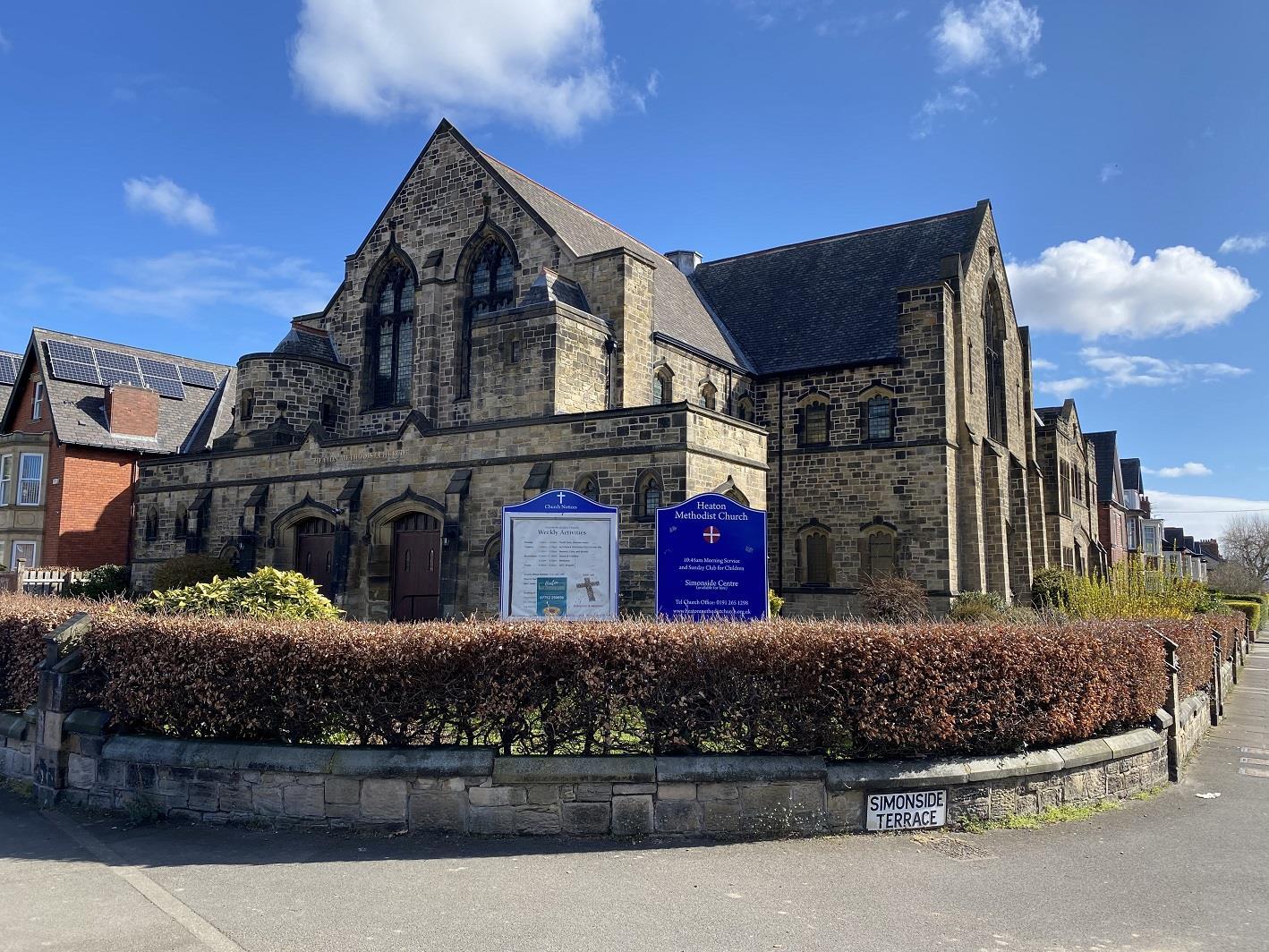 Heaton Methodist Church, 7 Simonside Terrace, Newcastle Upon Tyne, North East, NE6