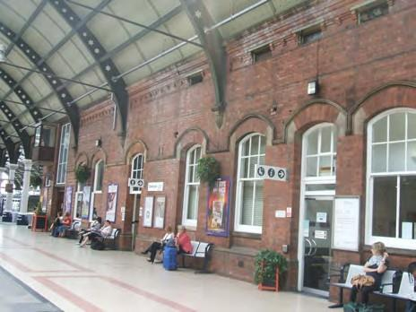 Darlington Railway Station, First Floor Offices, Station Buildings, Darlington, County Durham, DL1 4AA