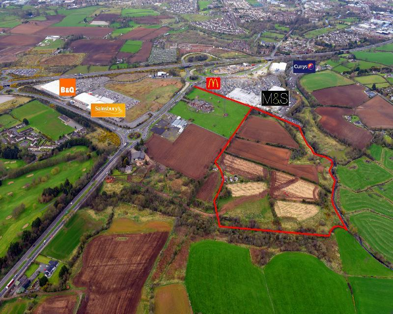 Lands At Sprucefield , Lisburn , County Antrim , BT27